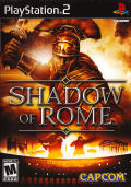 Shadow of Rome PlayStation 2 Front Cover