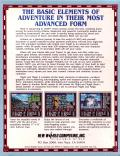 Might and Magic II: Gates to Another World DOS Back Cover