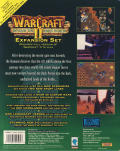 Warcraft II: Beyond the Dark Portal DOS Back Cover