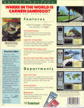 Where in the World is Carmen Sandiego? (Deluxe Edition) DOS Back Cover