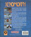 Xenomorph Amiga Back Cover