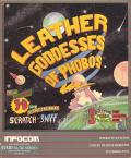 Leather Goddesses of Phobos Atari 8-bit Front Cover