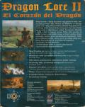 Dragon Lore II: The Heart of the Dragon Man DOS Back Cover
