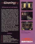 Wizardry: Crusaders of the Dark Savant DOS Back Cover