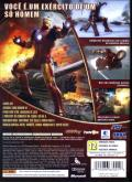 Iron Man Xbox 360 Back Cover