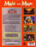 Might and Magic: Darkside of Xeen DOS Back Cover