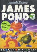 James Pond 3: Operation Starfish Genesis Front Cover