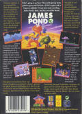 James Pond 3: Operation Starfish Genesis Back Cover
