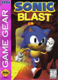 Sonic Blast Game Gear Front Cover