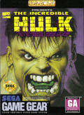 The Incredible Hulk Game Gear Front Cover