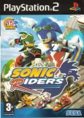 Sonic Riders PlayStation 2 Front Cover
