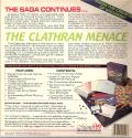 Star Saga: Two - The Clathran Menace DOS Back Cover