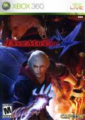 Devil May Cry 4 Xbox 360 Front Cover