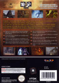 Knights of the Temple: Infernal Crusade GameCube Back Cover