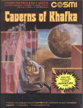 Caverns of Khafka Commodore 64 Front Cover