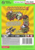 Serious Sam II Windows Back Cover