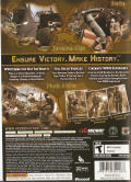 Hour of Victory Xbox 360 Back Cover