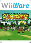 Critter Round-Up Wii Front Cover