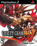 Guilty Gear Isuka PlayStation 2 Front Cover