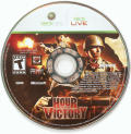 Hour of Victory Xbox 360 Media Game DVD