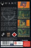 Quake SEGA Saturn Back Cover