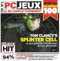 Tom Clancy's Splinter Cell Windows Front Cover Disc 1