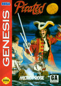 Pirates! Gold Genesis Front Cover