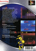 Jazz Jackrabbit 2: The Secret Files Windows Back Cover