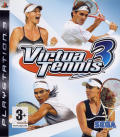 Virtua Tennis 3 PlayStation 3 Front Cover
