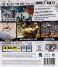 Tom Clancy's Splinter Cell: Double Agent PlayStation 3 Back Cover