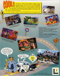 Sam & Max Hit the Road DOS Back Cover