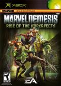 Marvel Nemesis: Rise of the Imperfects Xbox Front Cover