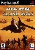 Star Wars: The Clone Wars PlayStation 2 Front Cover