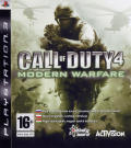 Call of Duty 4: Modern Warfare PlayStation 3 Front Cover