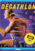 The Activision Decathlon MSX Front Cover