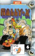Rally-X MSX Front Cover