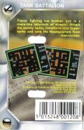 Tank Battalion MSX Back Cover