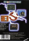 Ghostbusters MSX Back Cover