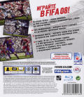 FIFA Soccer 08 PlayStation 3 Back Cover