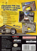 Crazy Taxi GameCube Back Cover