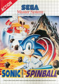 Sonic the Hedgehog: Spinball SEGA Master System Front Cover