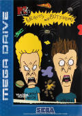 MTV's Beavis and Butt-Head Genesis Front Cover