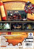 Naruto: Rise of a Ninja Xbox 360 Back Cover