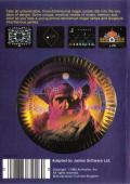 Master of the Lamps MSX Back Cover