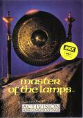 Master of the Lamps MSX Front Cover