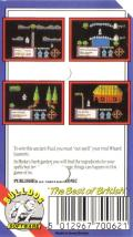 Feud MSX Back Cover