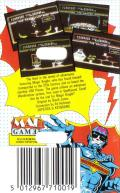 Knight Tyme MSX Back Cover