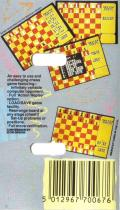 Master Chess MSX Back Cover