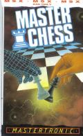 Master Chess MSX Front Cover