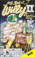 Jet Set Willy II: The Final Frontier MSX Front Cover